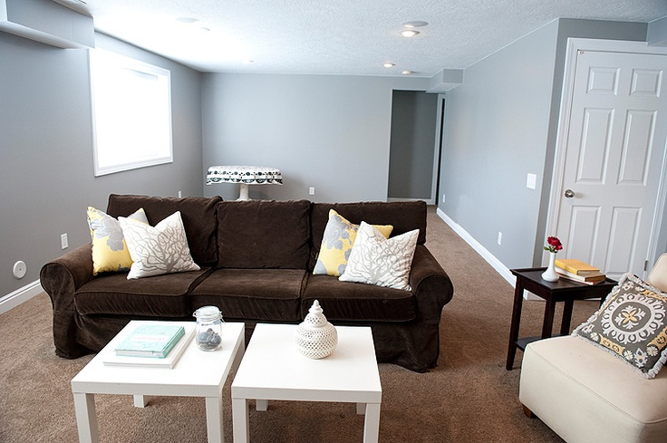 gray brown and white living room my style