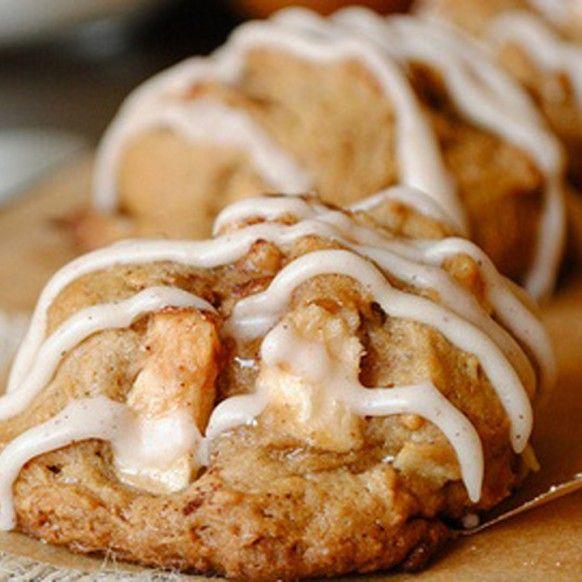 Big-Apple Maple Glazed Cookies | COOKIES and MORE COOKIES | Pinterest
