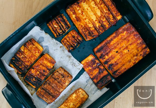 Grilled dry-rub BBQ tofu | Food | Pinterest