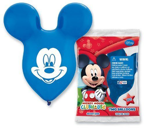 Mickey Mouse Balloons Ears by PIONEER BALLOON COMPANY  eeee!