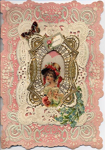 victorian valentine's day cards