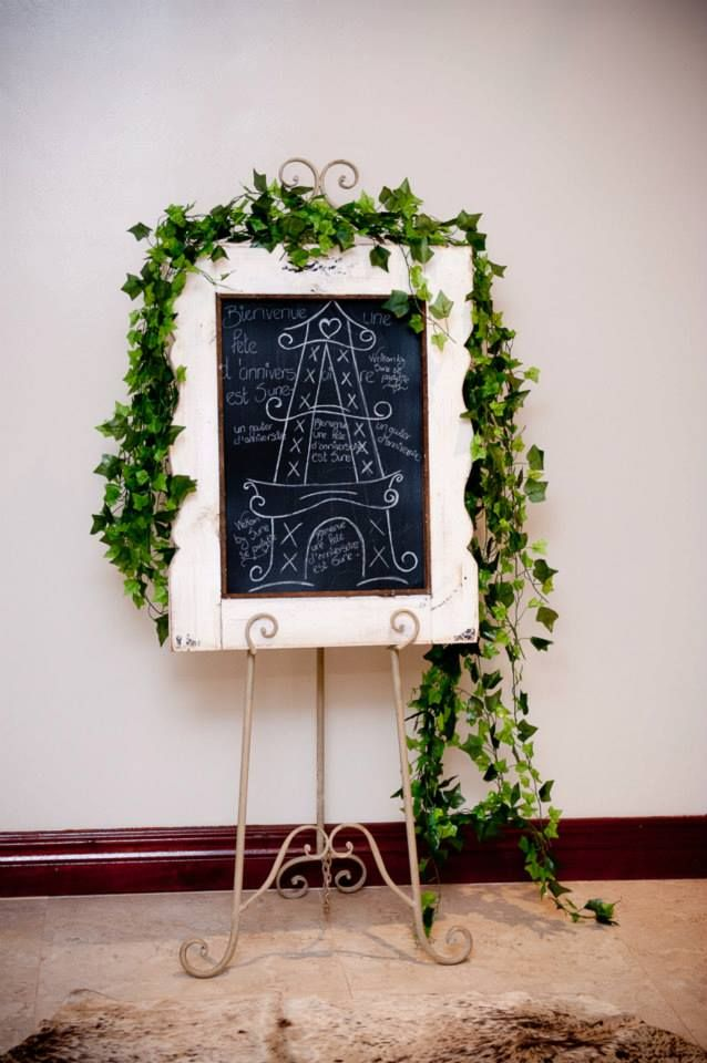 welcome board wedding pinterest