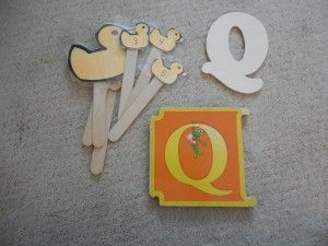 q is for quack  is for Quack!! This week,