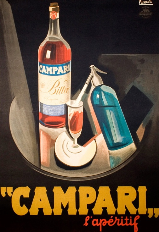 Campari and soda | Old Tom Tavern | Pinterest