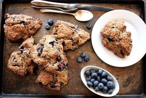 Maple blueberry buckwheat scones   Allergies!   Pinterest