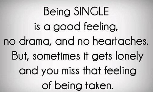 quotes about being single in valentine