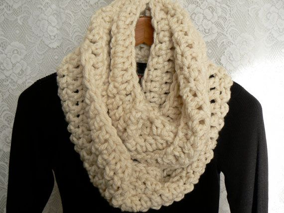 Super Bulky Infinity scarf My Style Pinterest