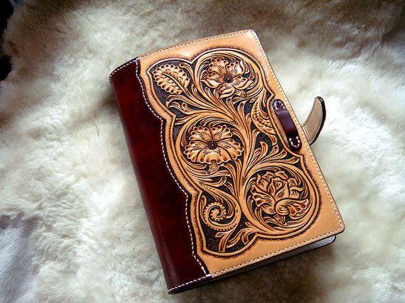Leathercraft pattern sheridan notebook leather
