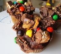 Indulgent Candy Bar Cupcakes – [Click Photo for Recipe]