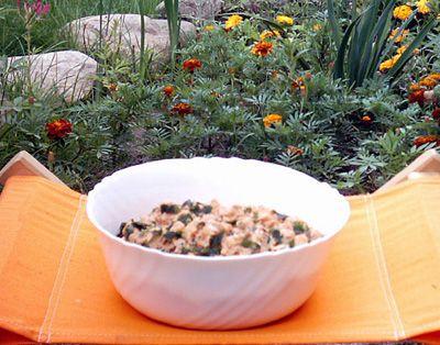 Marokańska sałatka ziemniaczana