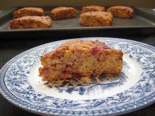 Whole Wheat Raspberry Ricotta Scones | Home Decor | Pinterest