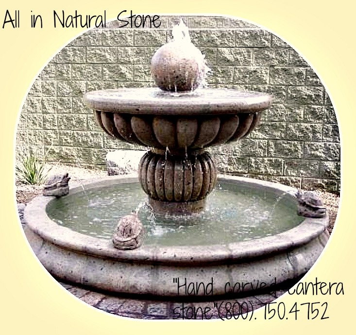 Hand Carved Natural Stone