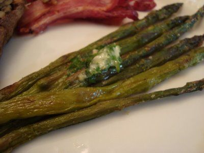 Roasted Asparagus w/Lemon Zest Butter | bariatric friendly or paleo ...