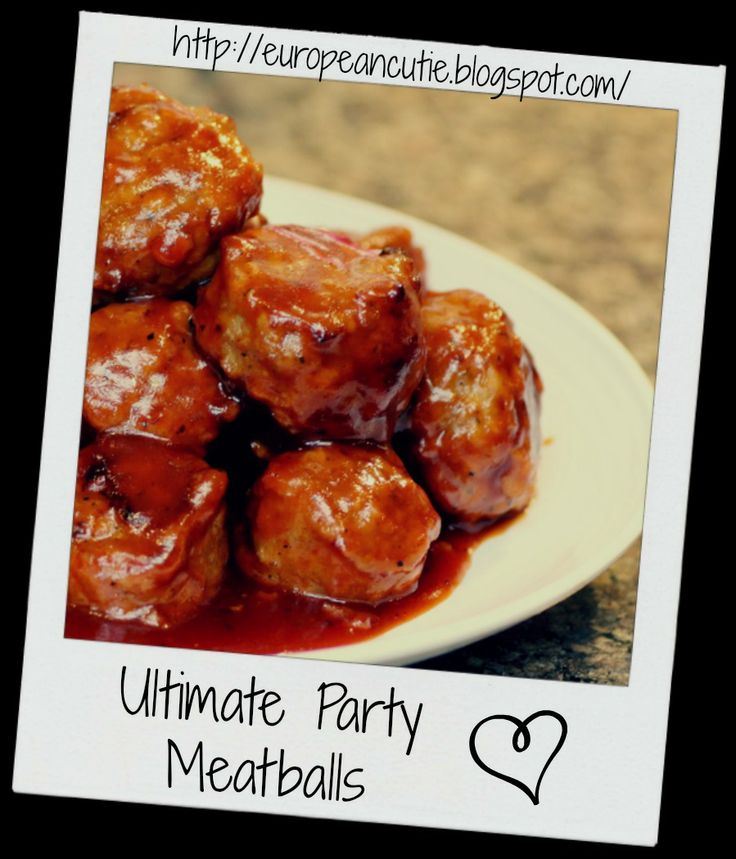 Ultimate Party Meatballs on MyRecipeMagic.com
