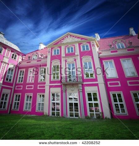 Pink Mansion In Stockholm Pink For Pinky Pinterest