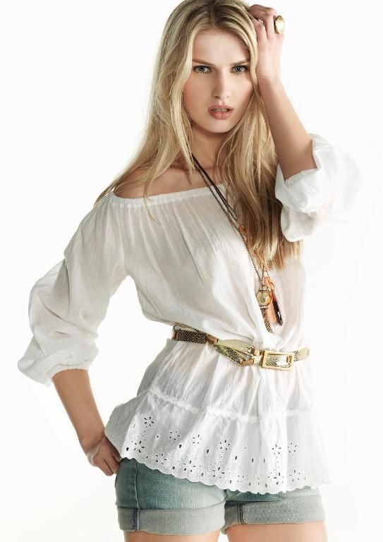Peasant Style Blouse