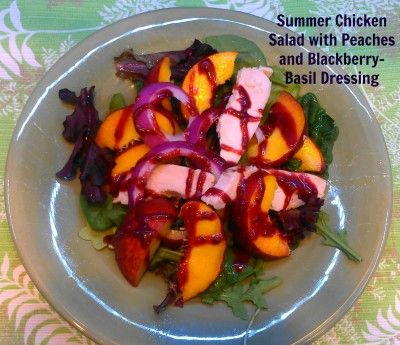 ... for Rosemary-Peach Jam Dressing for grilled pork chops or chicken. Yum
