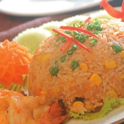 Rice with Shrimp Oil Sauce | ActiFry | Pinterest
