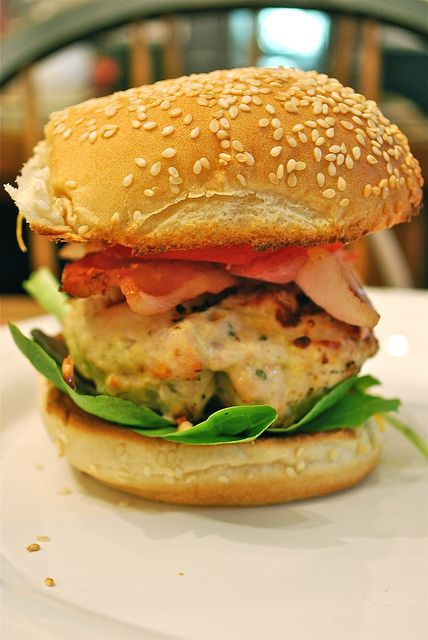 Bacon-Cheddar Ranch Turkey Burgers | Sandwiches, Wraps, Paninis | Pin ...