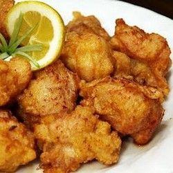 Japanese-Style Deep Fried Chicken | Food | Pinterest