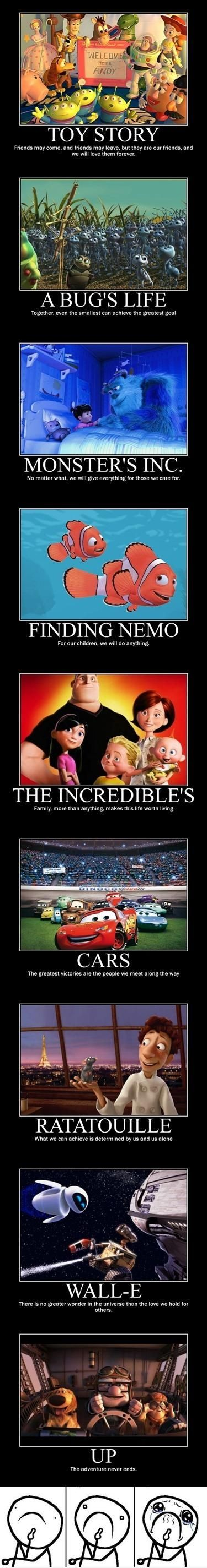 Things Pixar taught me.