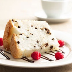 low-fat chocolate chip angel food cake | Favorite Recipes | Pinterest