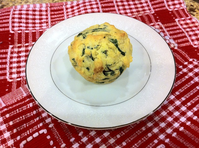 Swiss Chard & Parmesan Corn Bread Muffins. Sweet and simple.