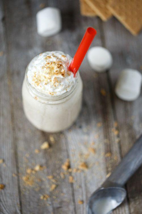 Toasted Marshmallow Milkshake | Recipe