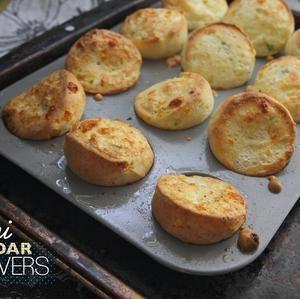Mini Cheddar Popovers   Food   Pinterest