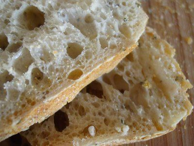 Rosemary-Lemon No-Knead Bread | I'm A Foodie! | Pinterest