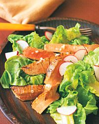Seared-Tuna and Radish Salad with Lemon Vinaigrette | Recipe