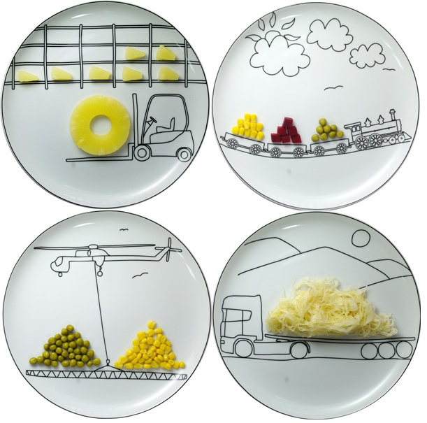 these are the cutest plates ever!