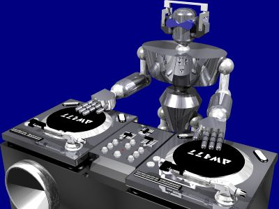 dj past 3d artwork created using various applications such as swift 3d ...