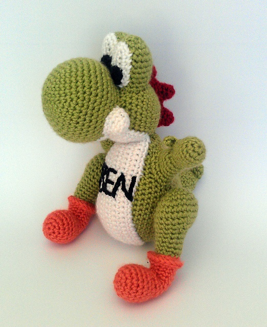 Crochet Patterns Yoshi : Yoshi - crochet The Yarn Arts Pinterest