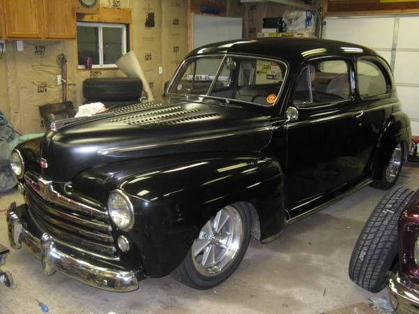 1948 ford 2 door sedan ratrods pinterest for 1948 ford 2 door sedan
