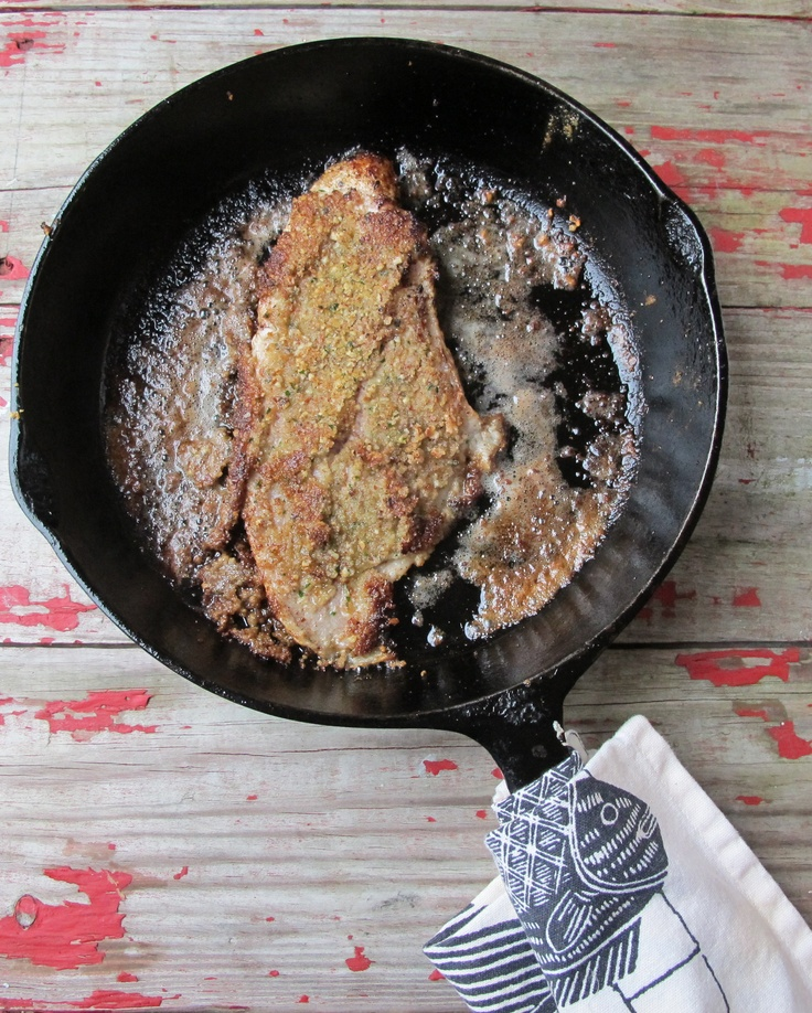 Pecan Crusted Catfish | Cooking with Cast iron | Pinterest