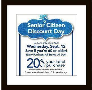 ross stores senior discount