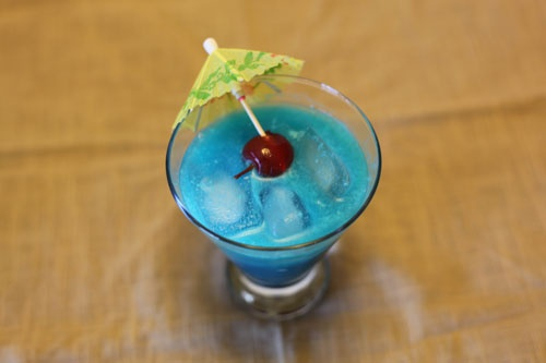 Blue Hawaiian Cocktail. Another good drink for the 4th of July.