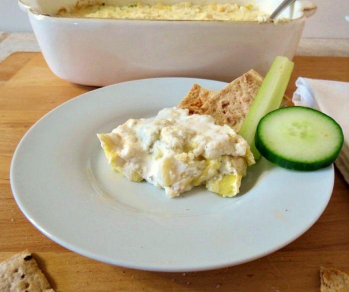 Artichoke and Jalapeno Ranch Dip - A hot, creamy, cheesy, spicy dip ...