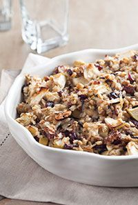 Fruit and Wild Rice Stuffing | Food, Glorious Food! | Pinterest