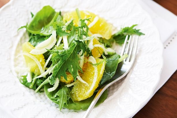 Fennel and orange salad | Recipes to try | Pinterest