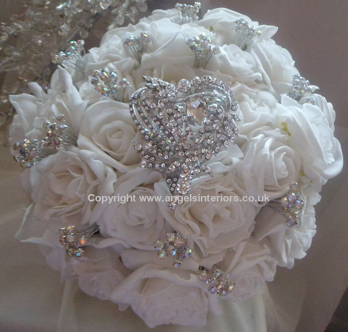 Vintage Wedding Bouquets Brooch Bouquets Pinterest