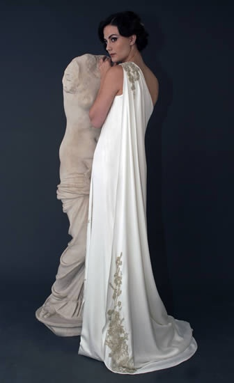 Toga style oh que luna tunica wedding dresses for Toga style wedding dress