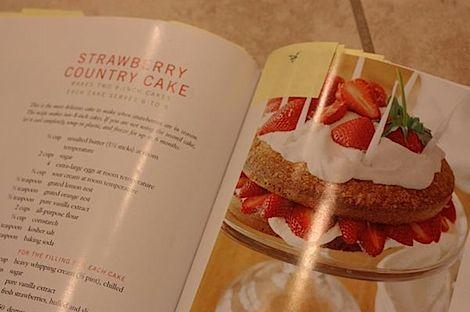 Barefoot Contessa strawberry country cake-2nd favorite!