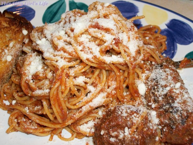Spaghetti sauce with Italian sausage and meatballs recipe from http ...