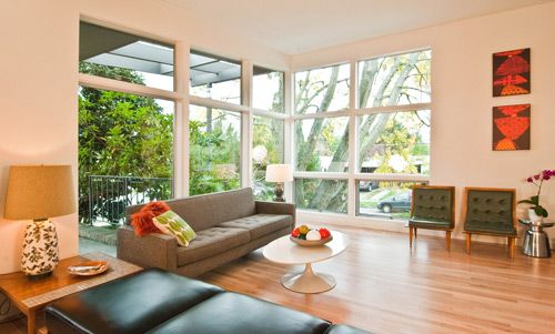 mid century modern windows mi casa pinterest