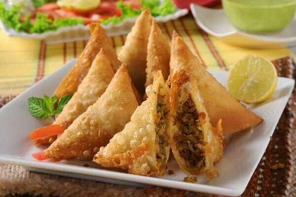 Beef samosas | yummys | Pinterest