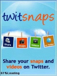 Download TwitSnaps Applications to your mobile phone Free - Twitsnaps is a photo sharing application. It allows you to tweet your snaps and share with your friends on twitter.