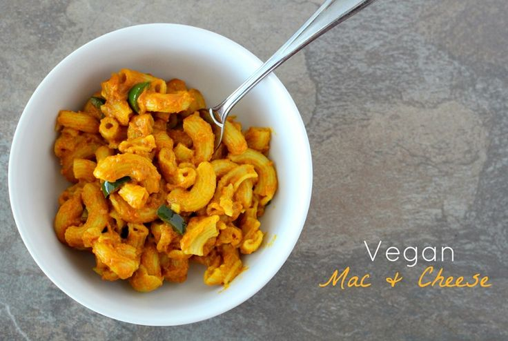 Vegan} Mac & Cheese with Poblano | Mac & Cheese! | Pinterest