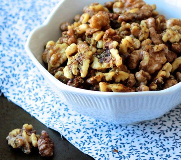 Honey Rosemary Roasted Walnuts Recipe - RecipeChart.com